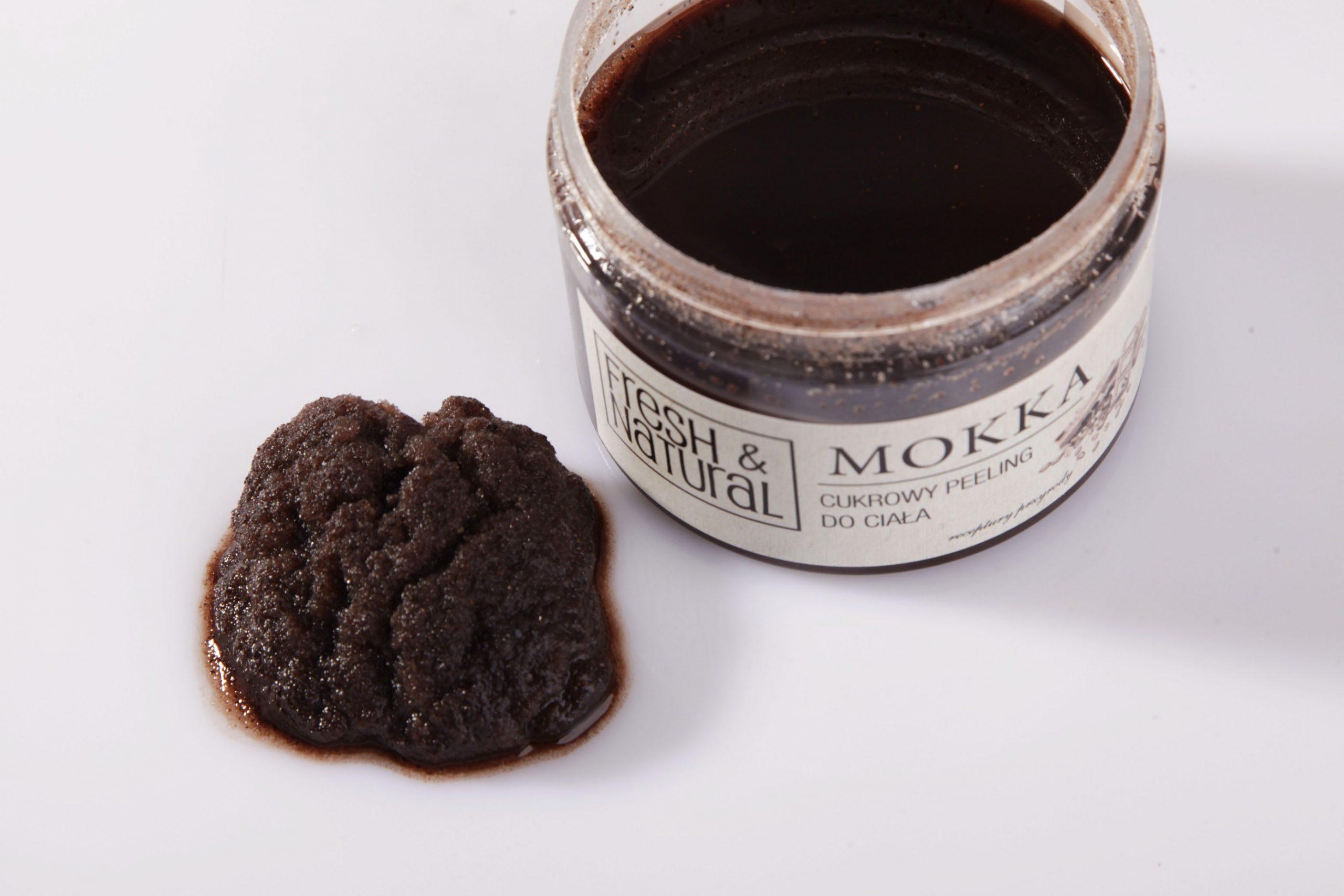 Cukrowy peeling do ciała MOKKA 550 g