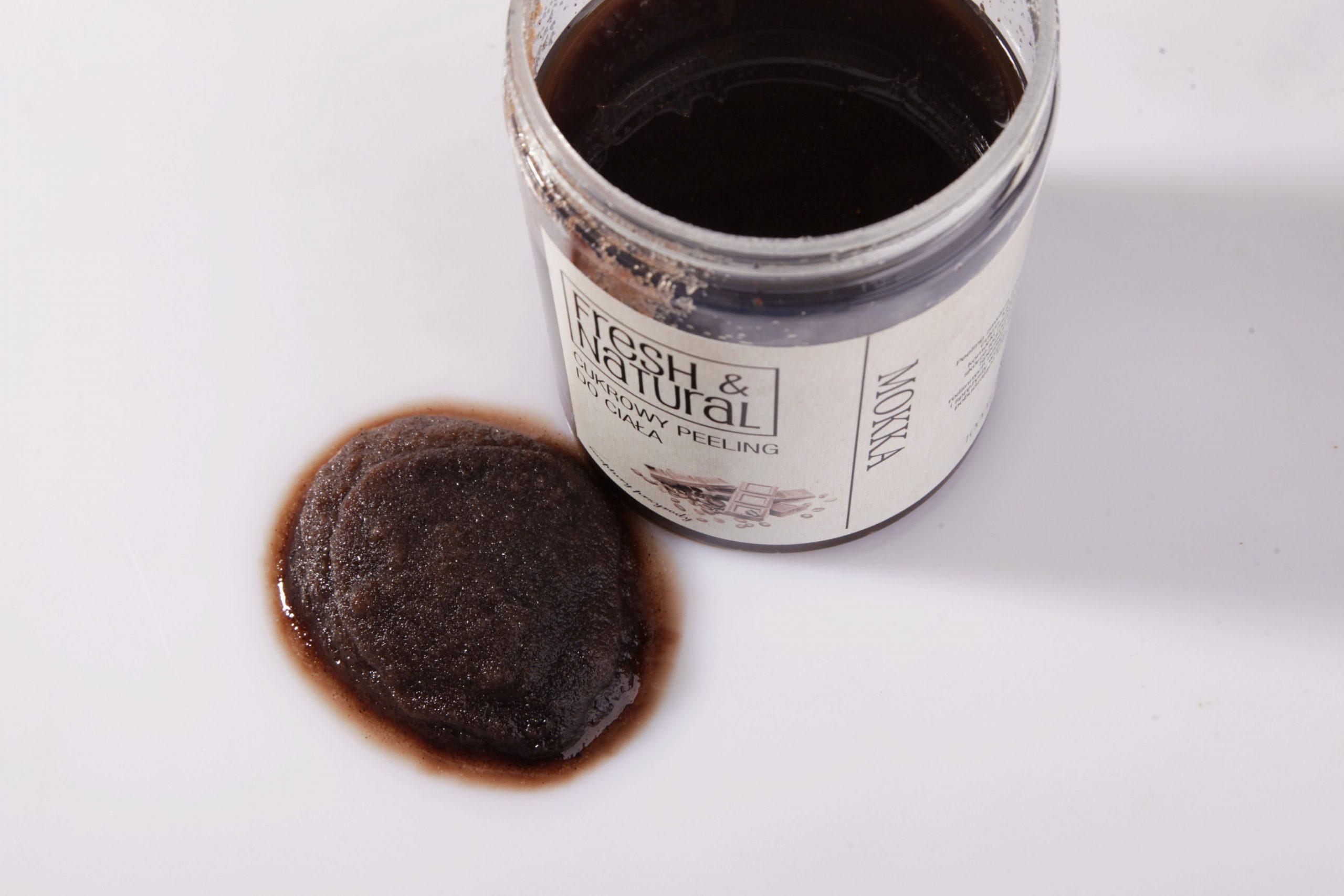 Cukrowy peeling do ciała MOKKA 1000 g