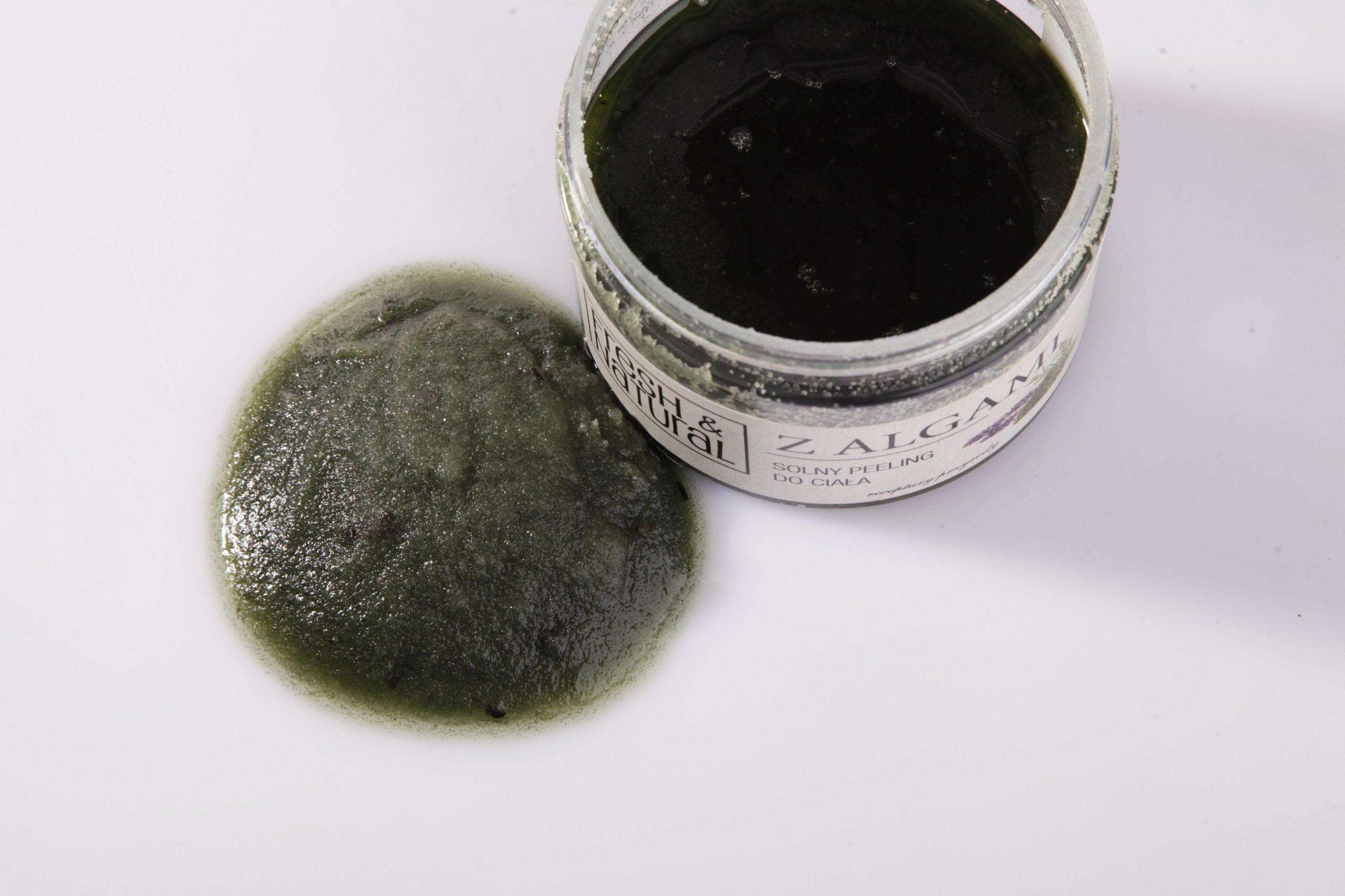 Solny peeling do ciała Z ALGAMI 550 g