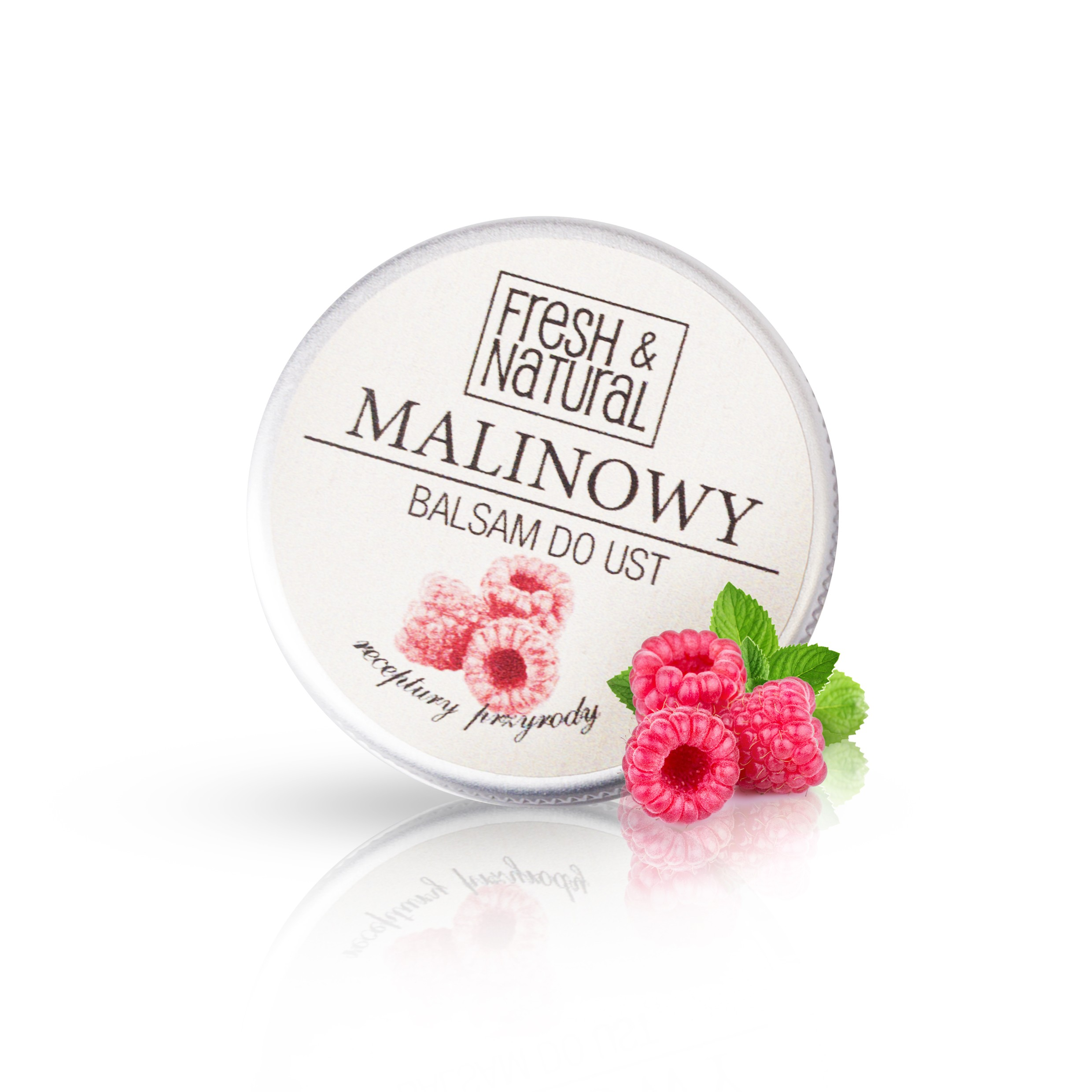 MALINOWY balsam do ust 15 ml