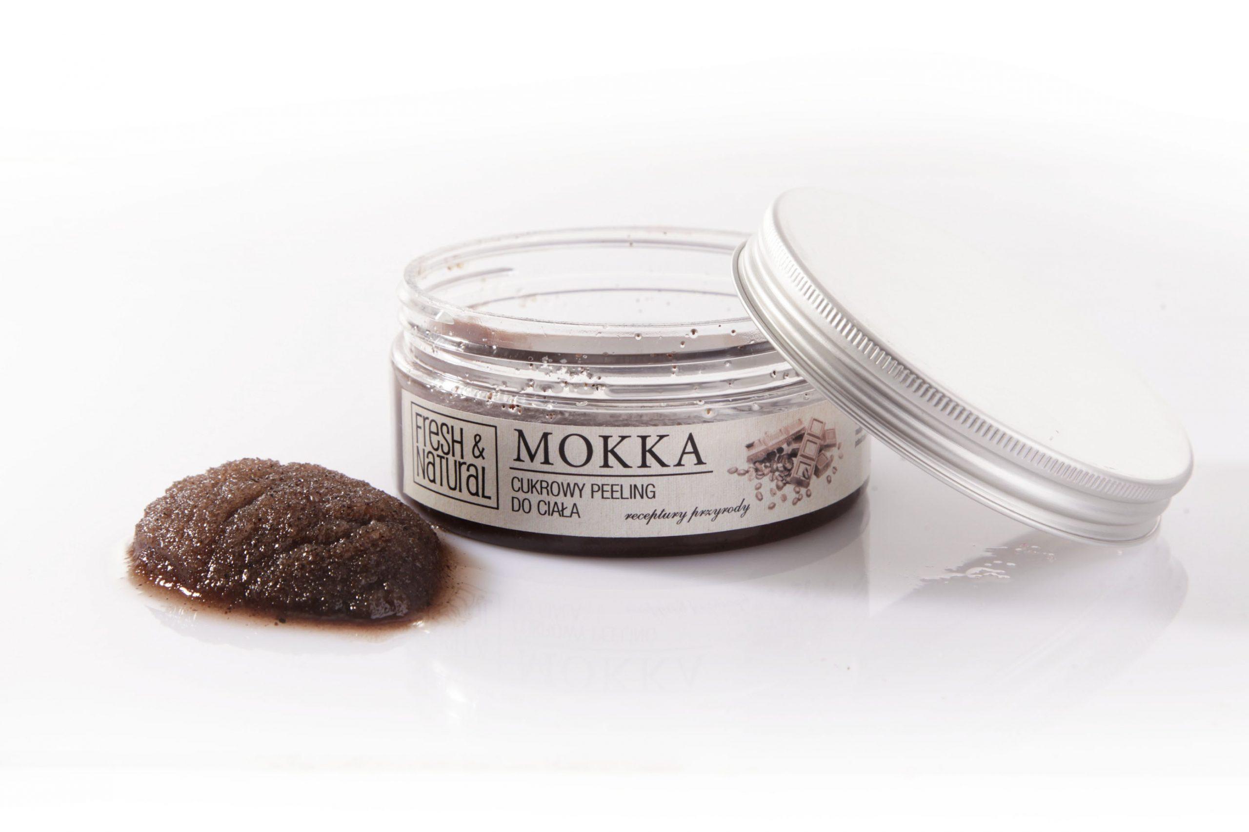 Cukrowy peeling do ciała MOKKA 250 g