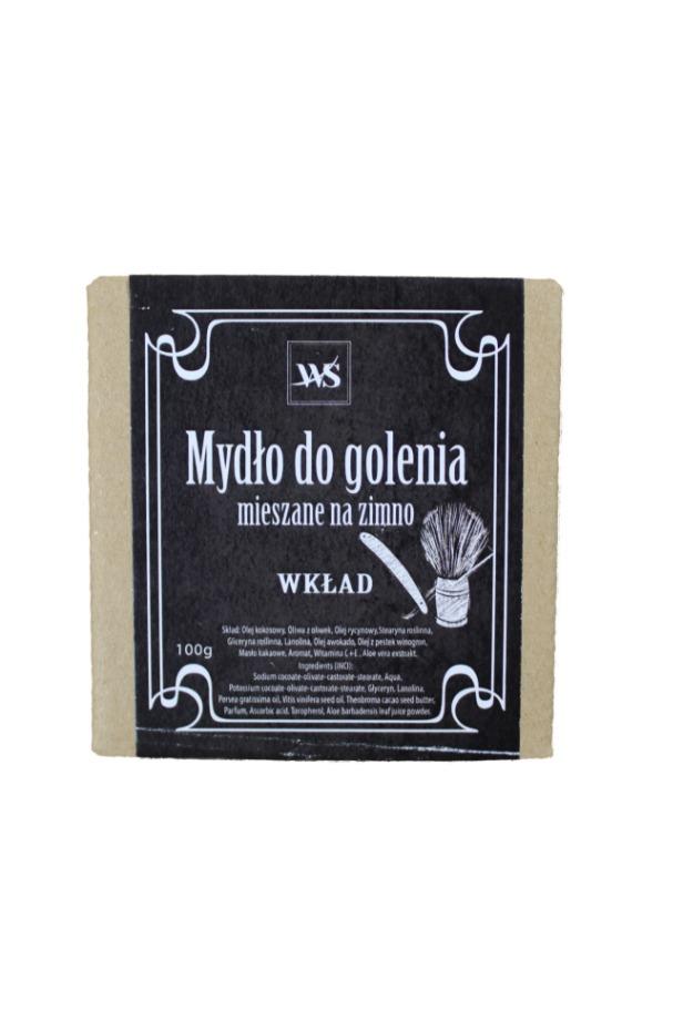 Naturalne mydło do golenia (wkład) - Mydła Wiedeńskie
