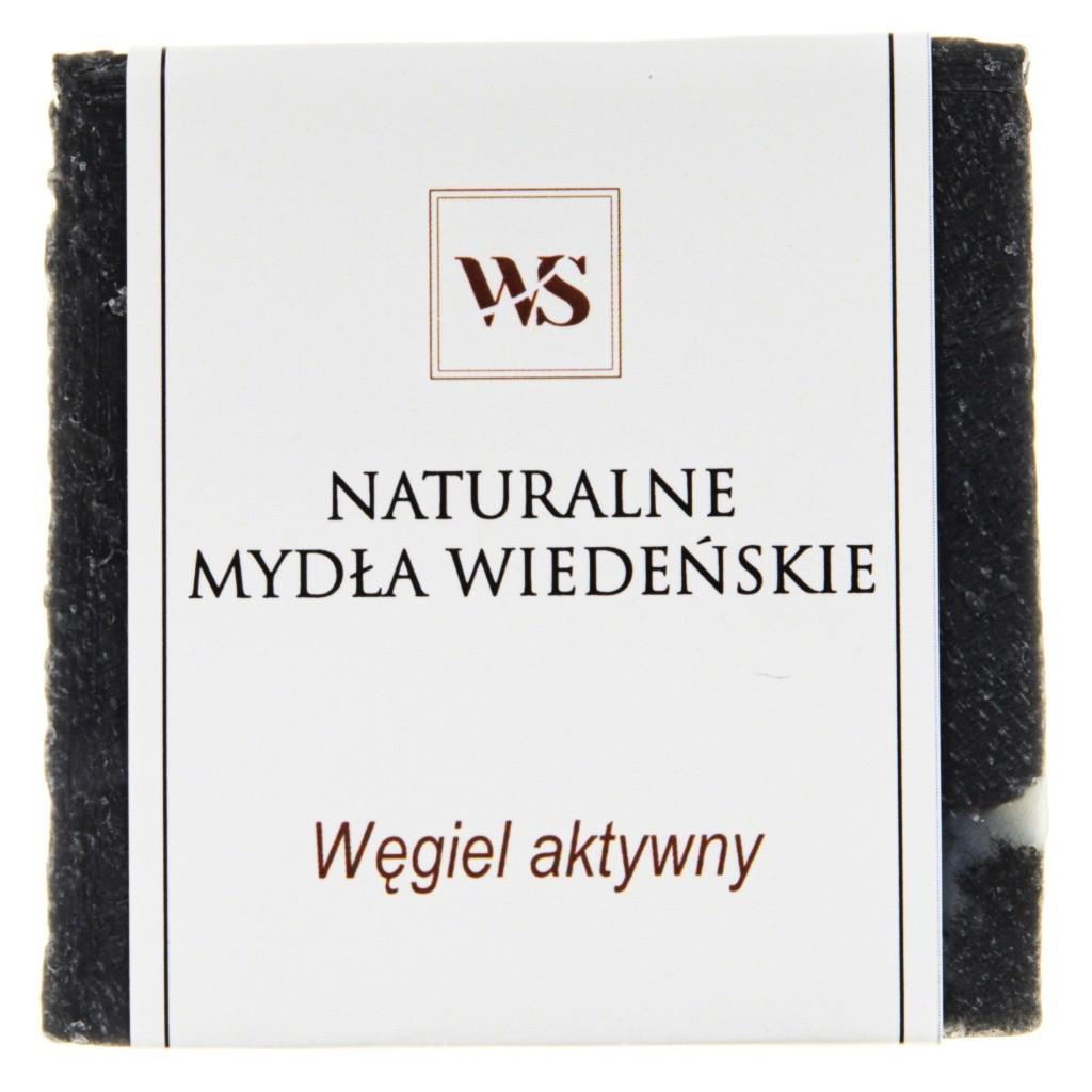 Mydło naturalne węgiel aktywny - Mydła Wiedeńskie