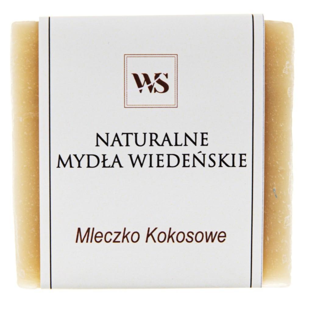 Mydło naturalne mleczko kokosowe - Mydła Wiedeńskie