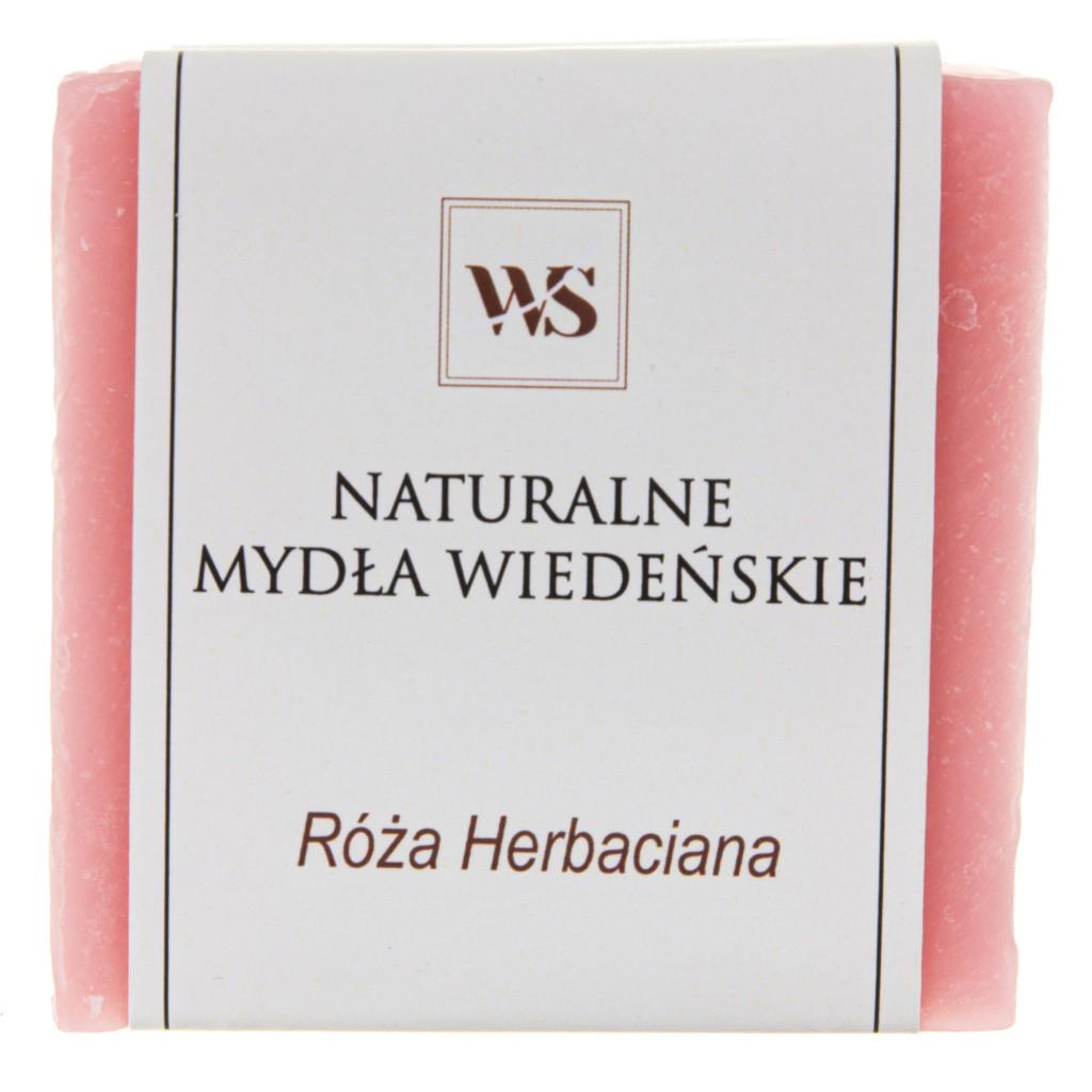 Mydło naturalne róża herbaciana - Mydła Wiedeńskie