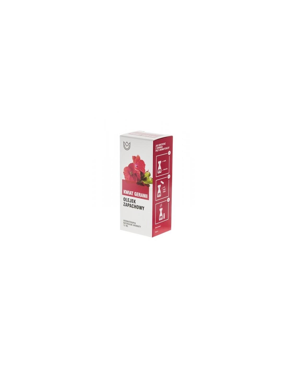 Olejek zapachowy kwiat geranii 12 ml