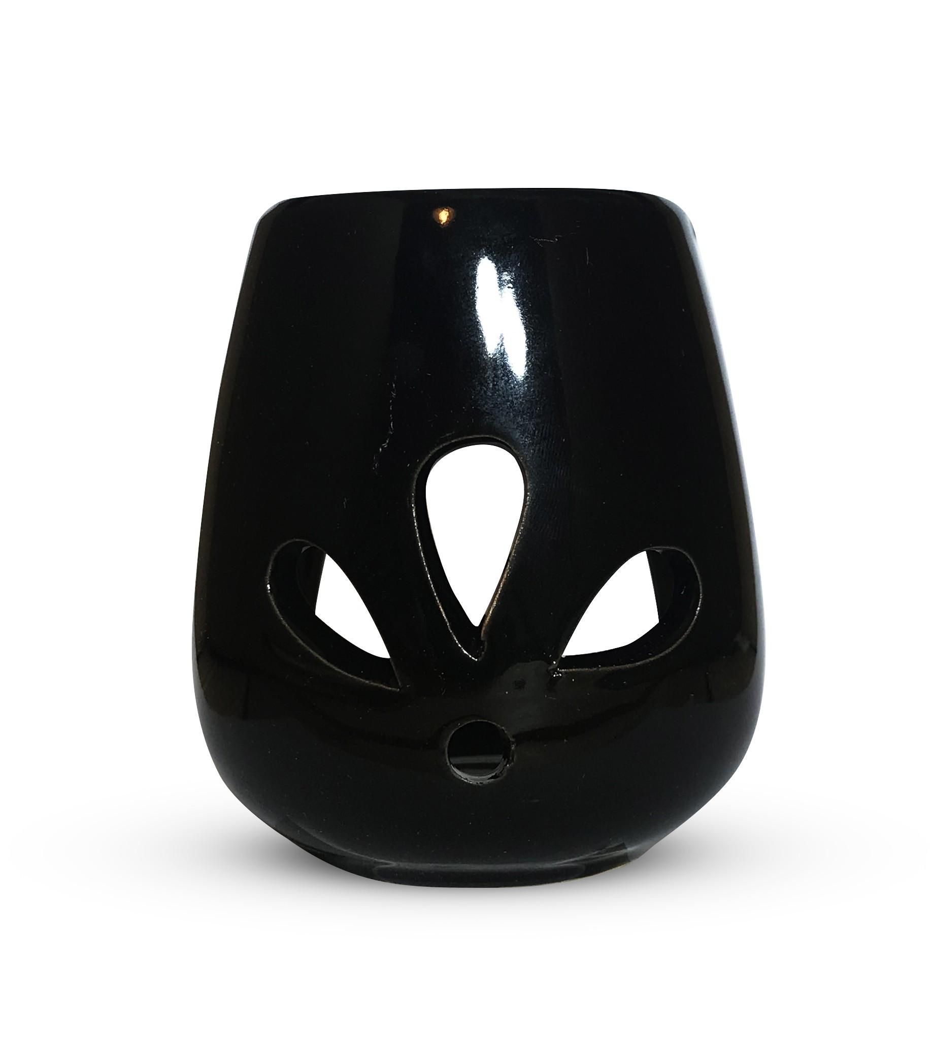 Kominek do wosku - czarny