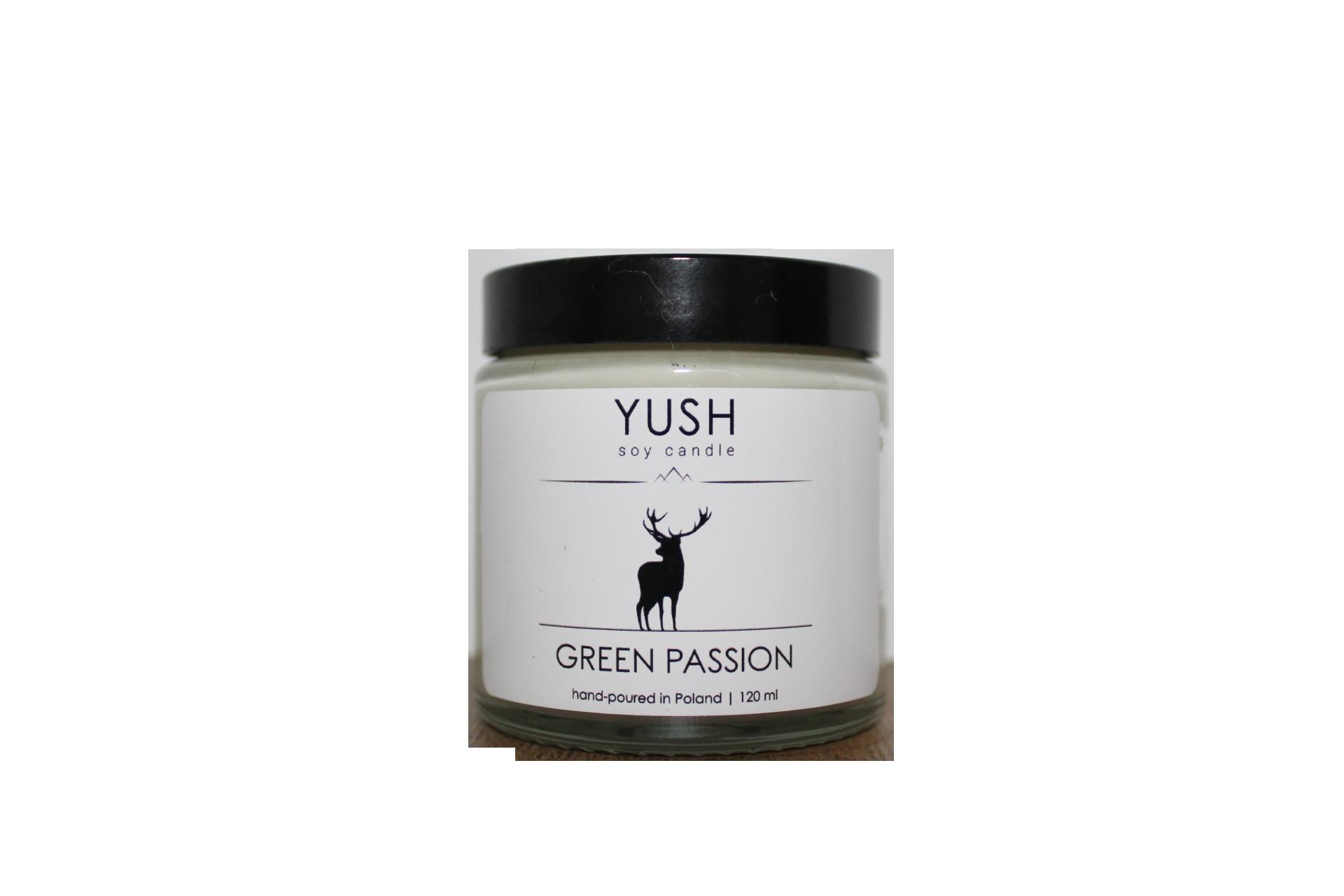Świeca sojowa - Green Passion
