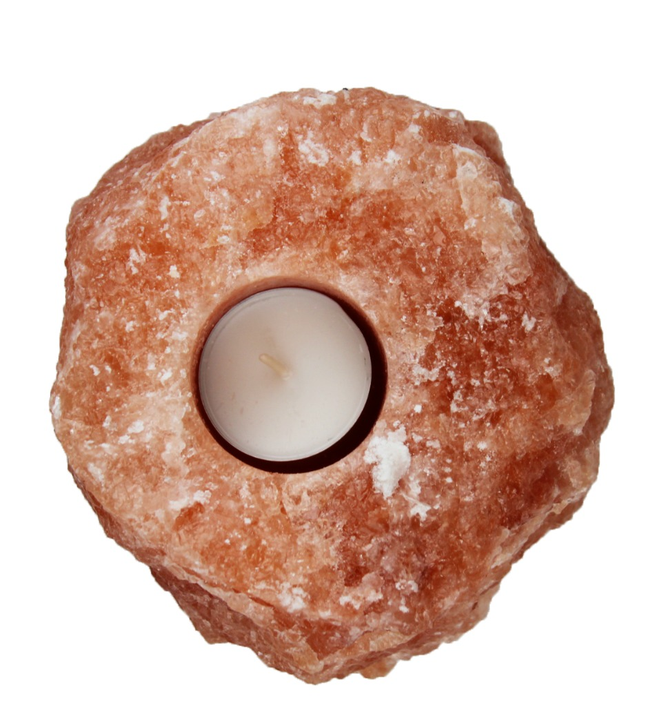 Świecznik z soli Kłodawskiej