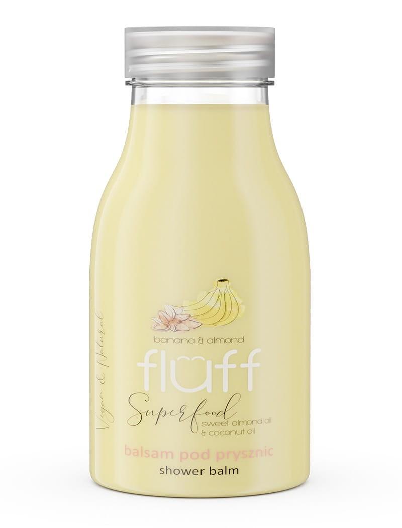 Fluff - balsam pod prysznic banan i migdał 300 ml