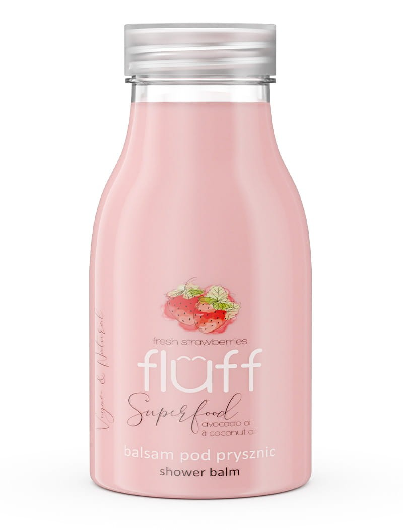 Fluff - balsam pod prysznic truskawka