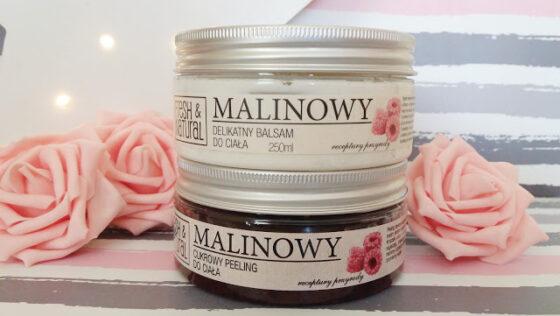 Peeling i balsam malinowy