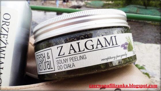 Solny peeling algi